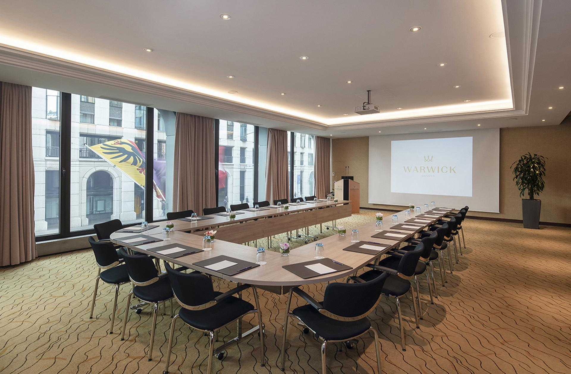 Meeting Room Jura at Warwick Geneva