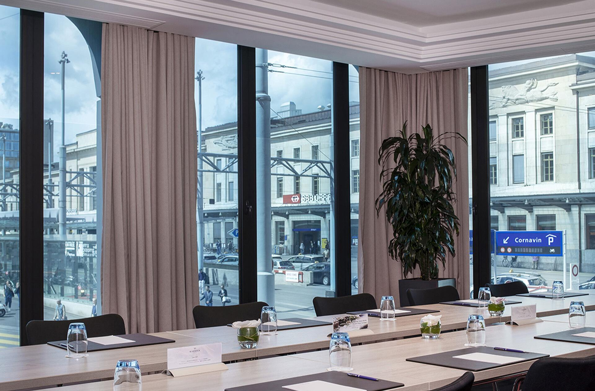 Meeting Room Rigi at Warwick Geneva