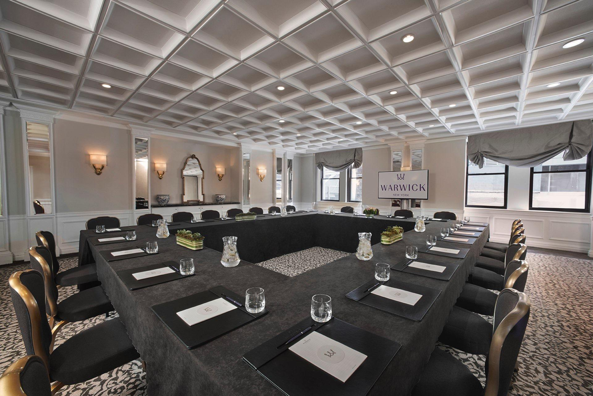 Oxford Meeting Room Boardroom at Warwick New York