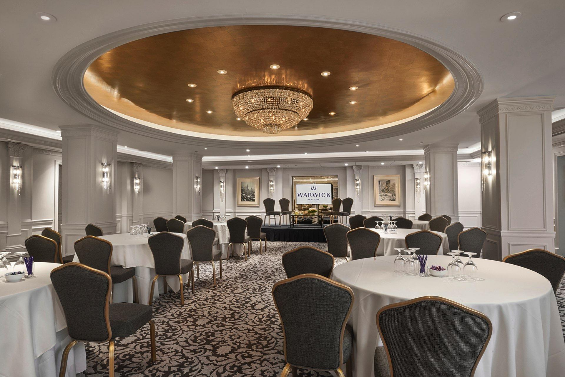 Warwick Meeting Room Cabaret at Warwick New York