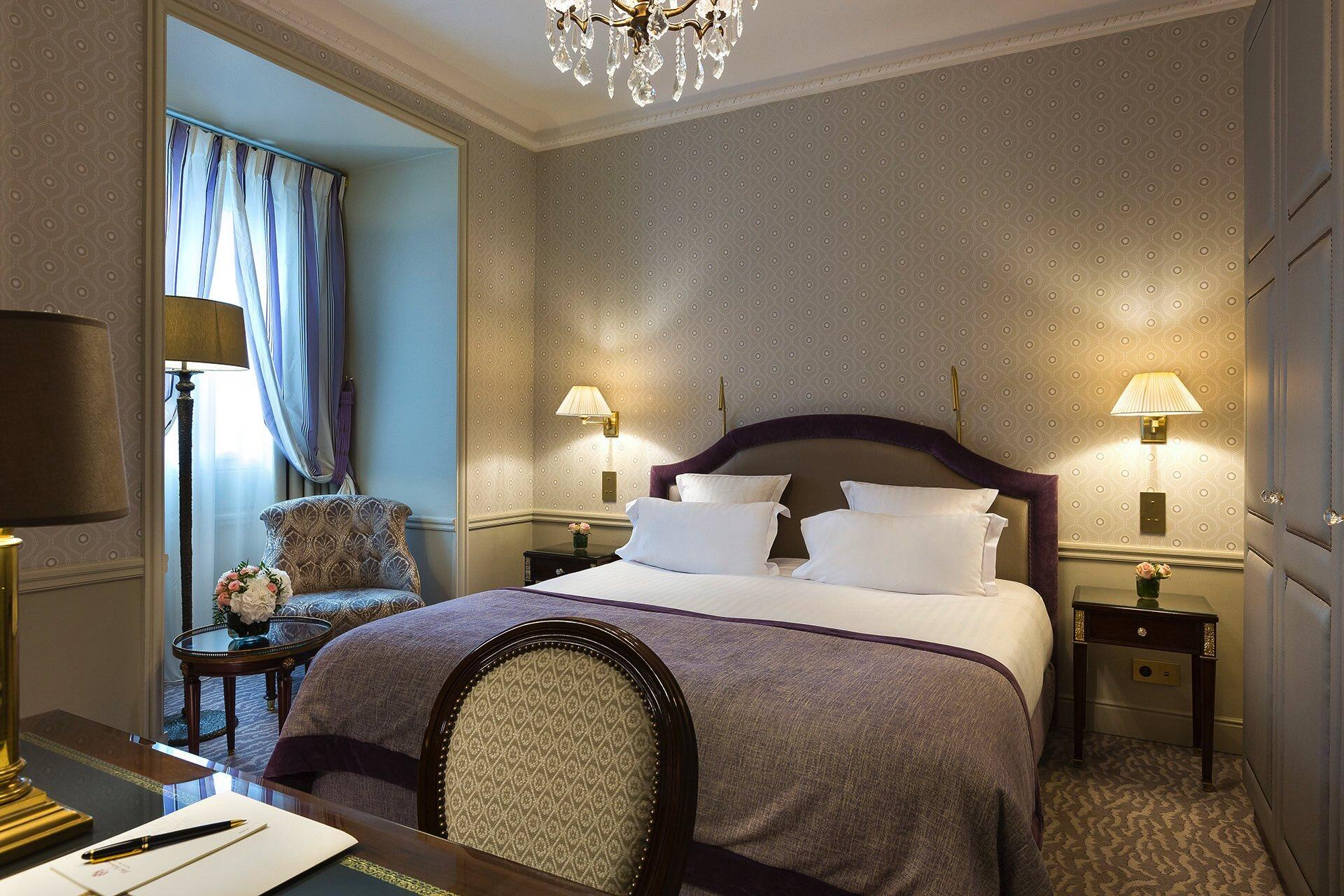 Chambre exclusive au Westminster Warwick Paris