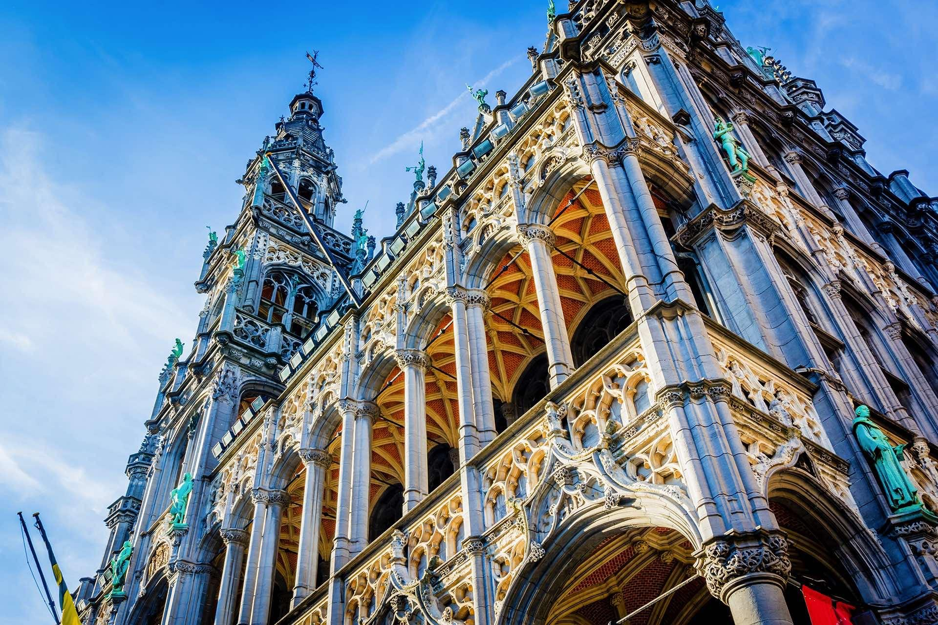 Brussels View Building Grand Place