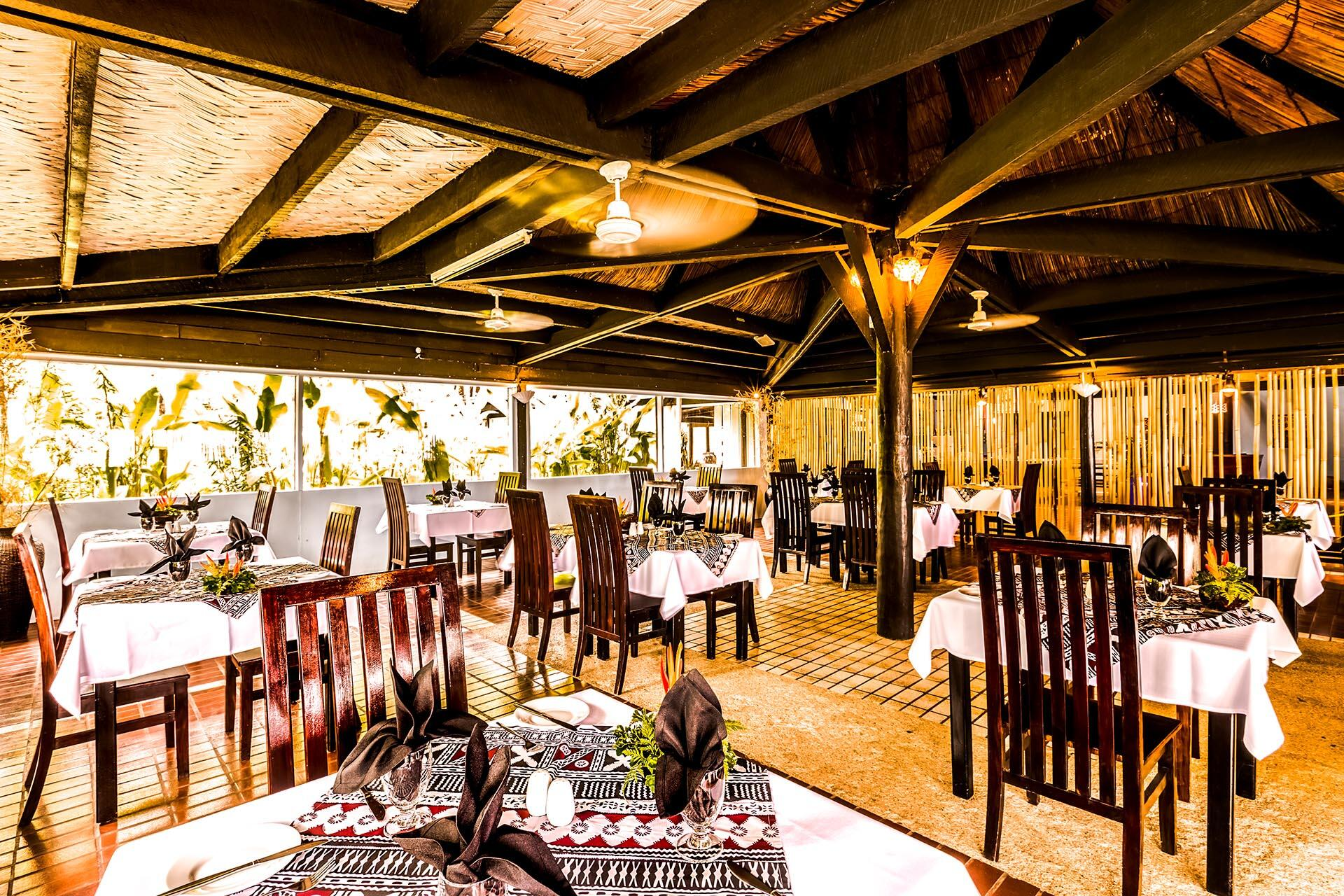 Restaurant at Tambua Sands Beach Resort