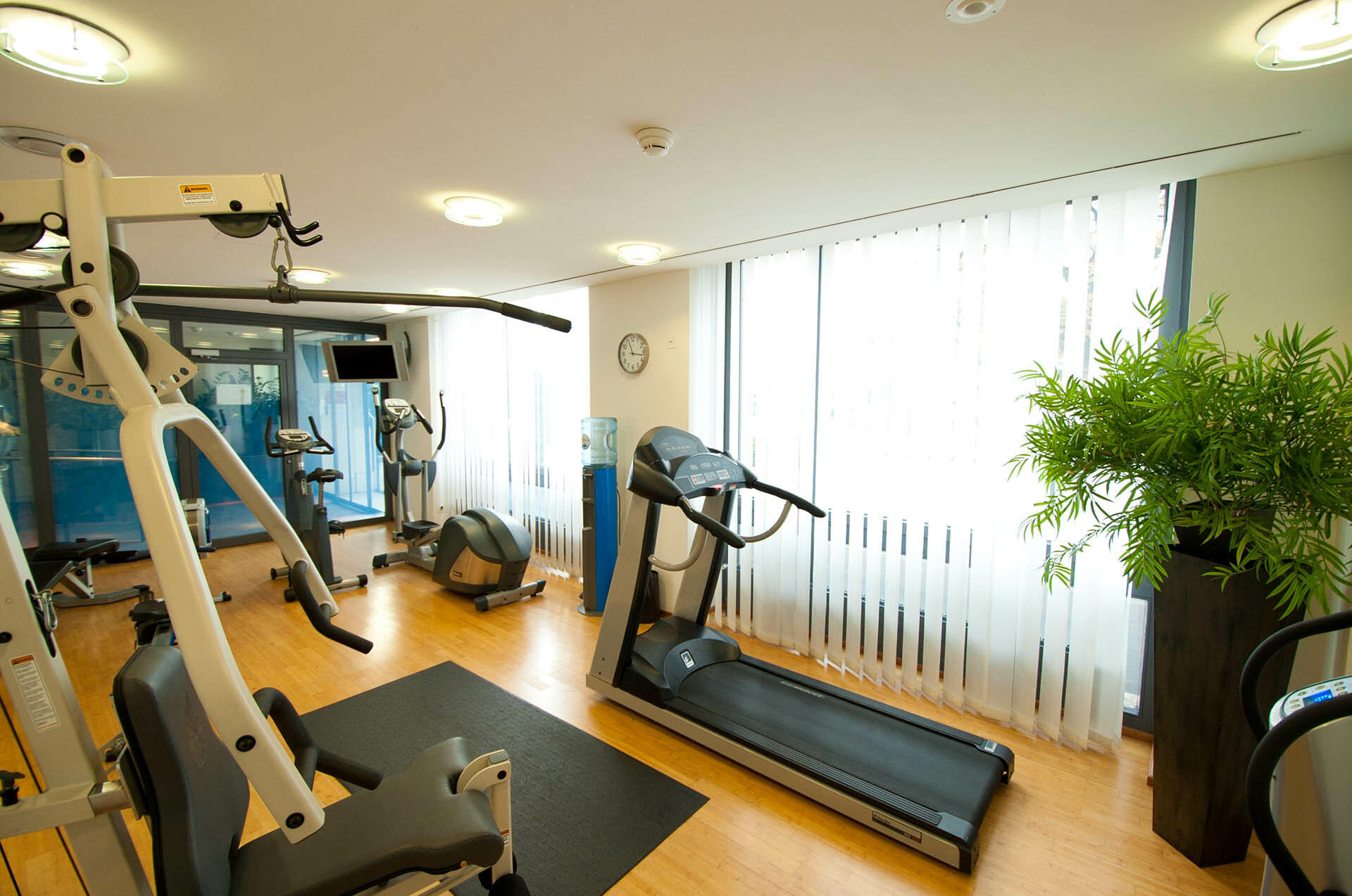 Fitness Centre at Central Plaza Hotel Zurich