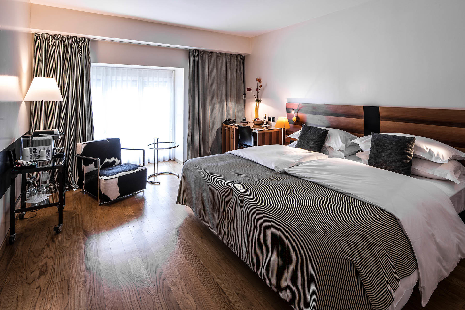 Riverview Room at Central Plaza Hotel Zurich