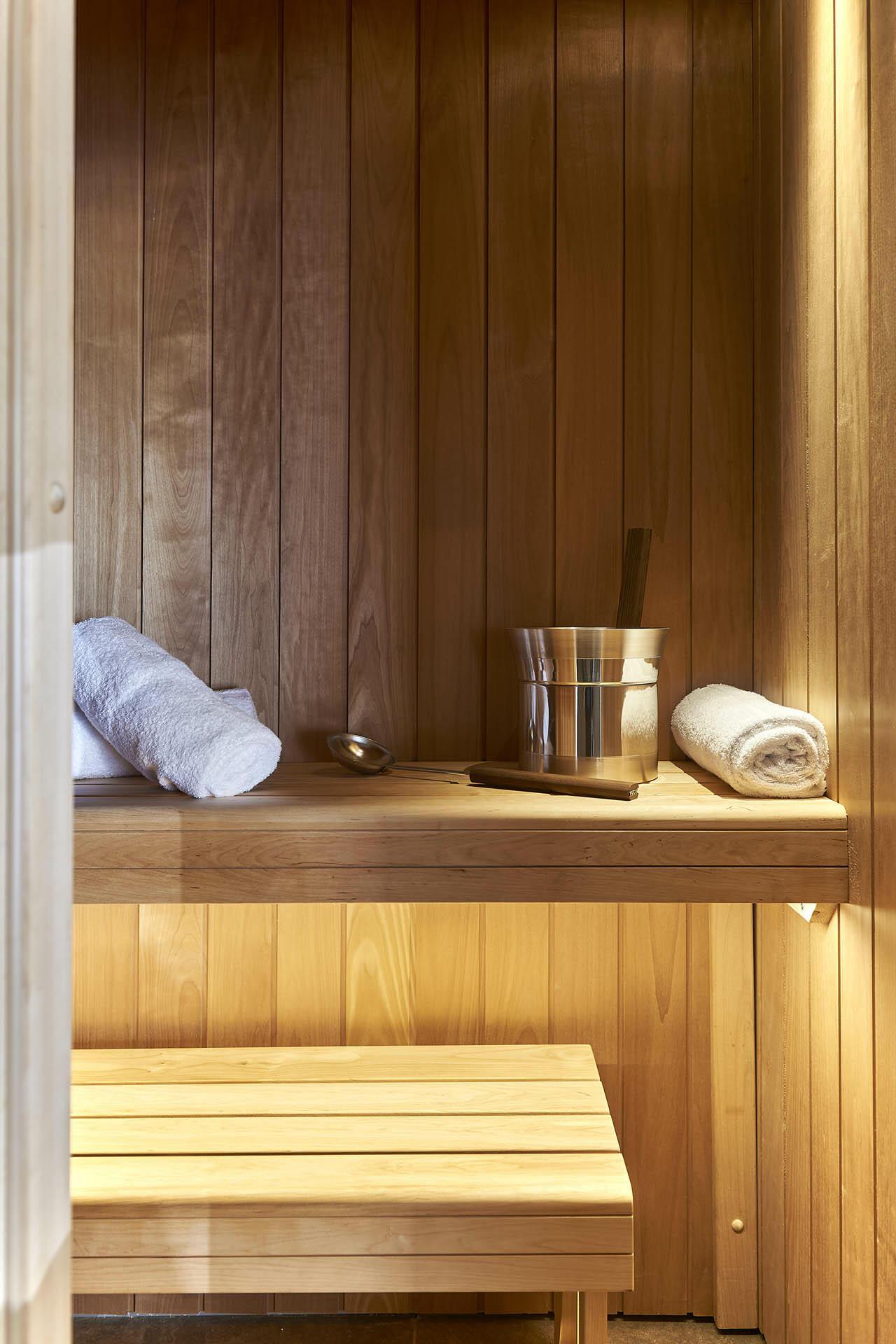 Sauna at Splendid Hotel and Spa