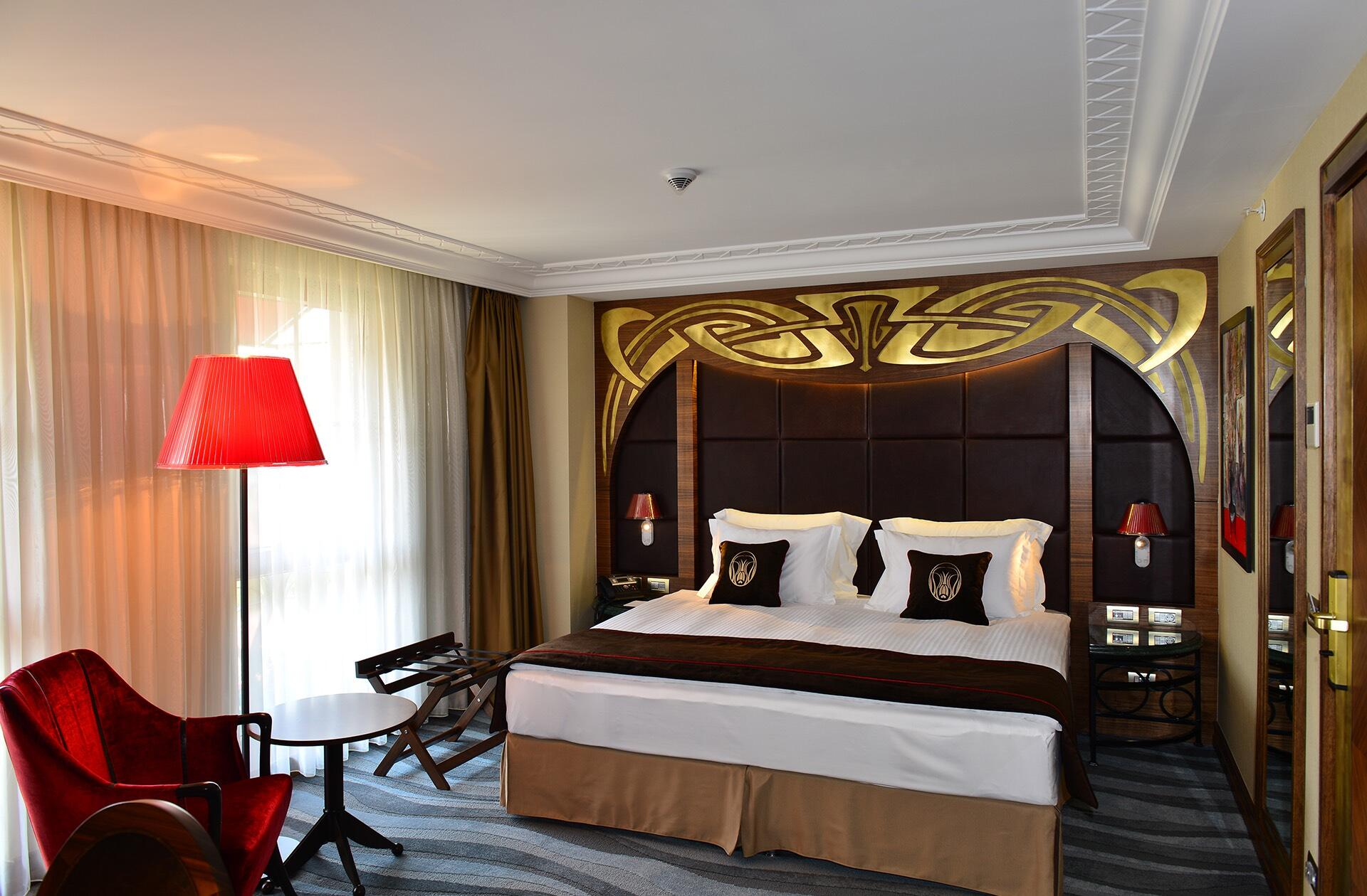 Deluxe Room at Warwick Ankara