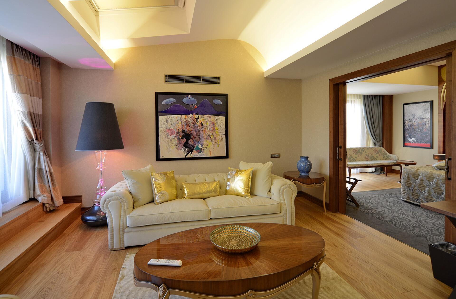 Warwick Suite Sitting Area at Warwick Ankara