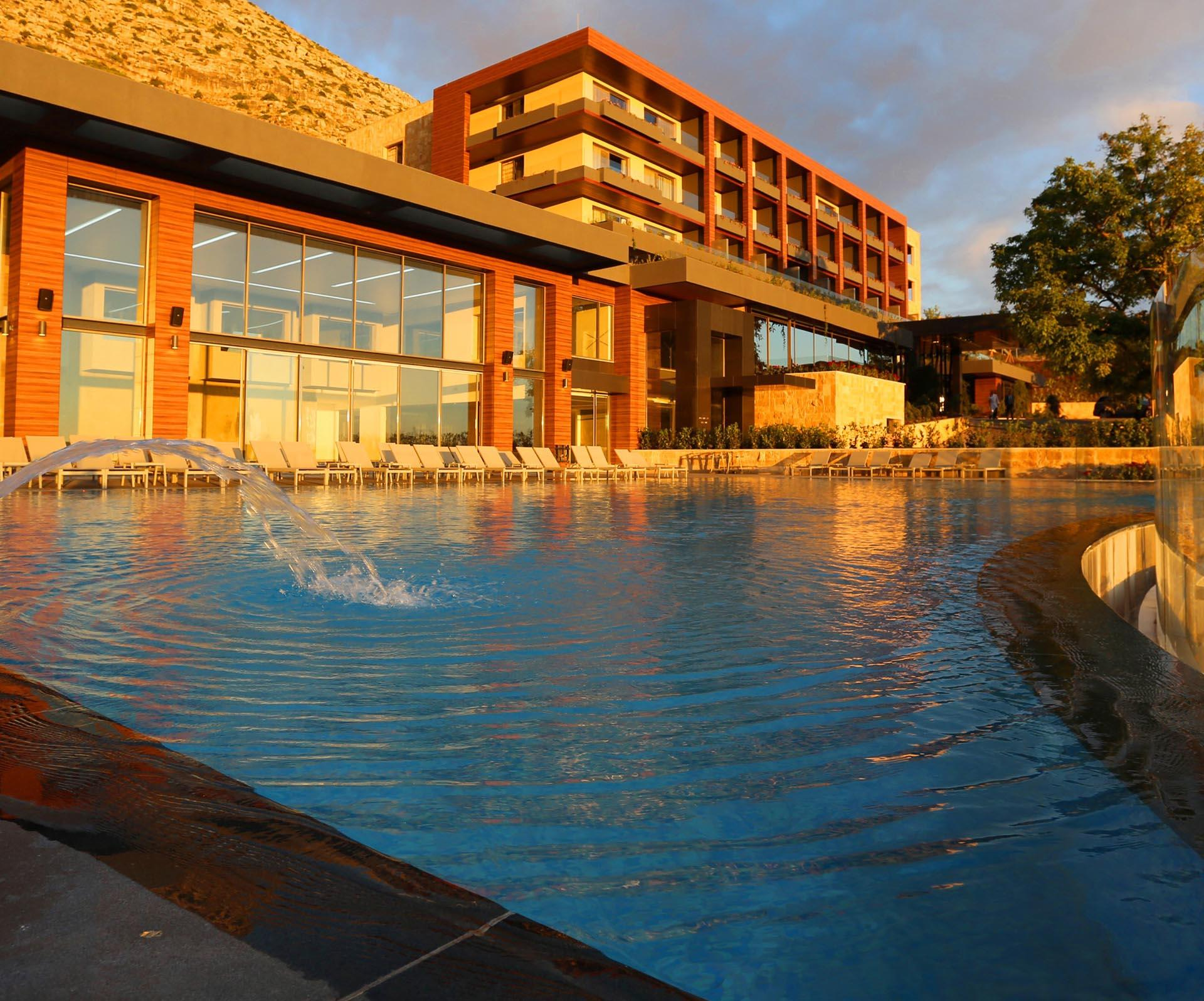 Pool at Mist Hotel and Spa