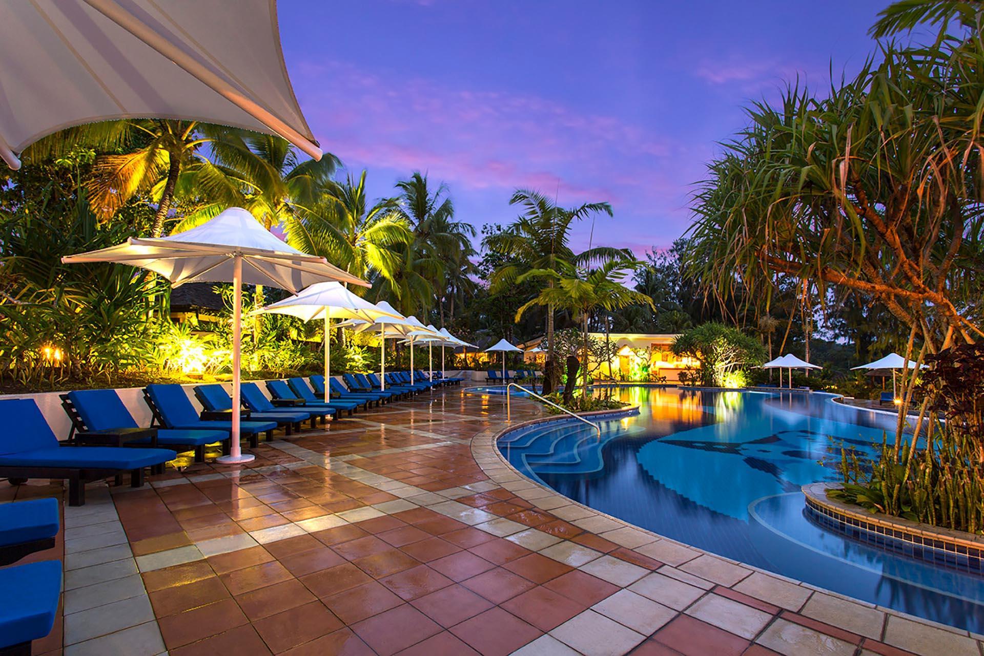 Pool Relax at Warwick Le Lagon Vanuatu