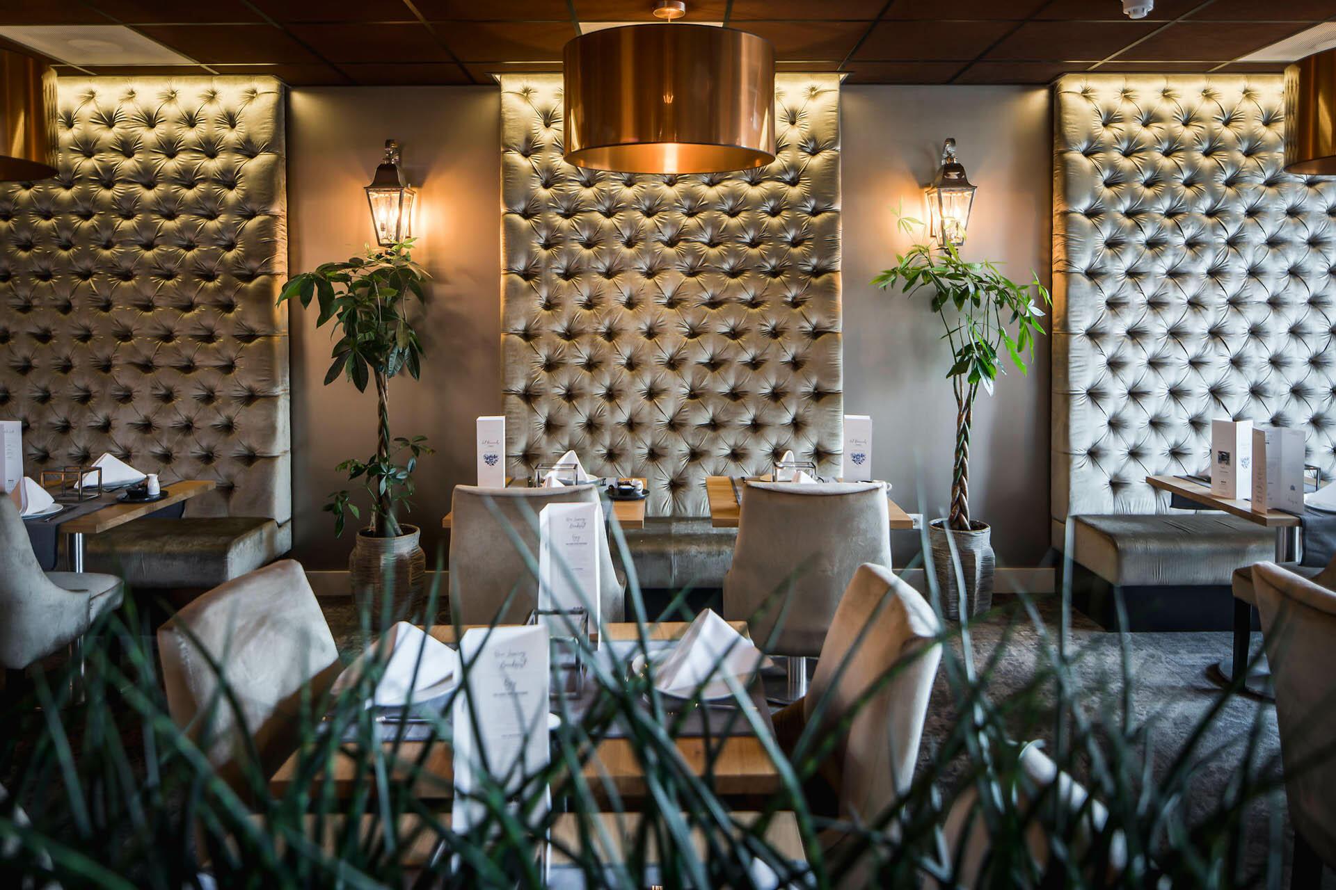 Lounge at Luxury Suites Amsterdam