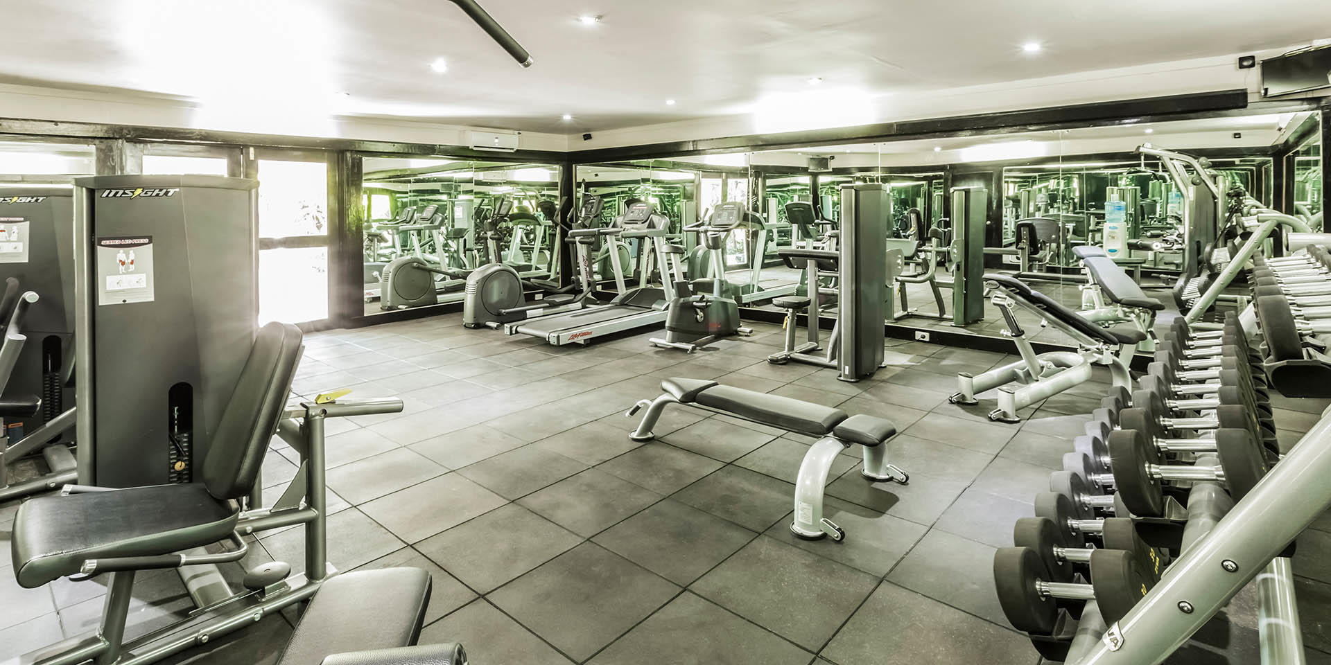 Gym at Tokatoka Resort