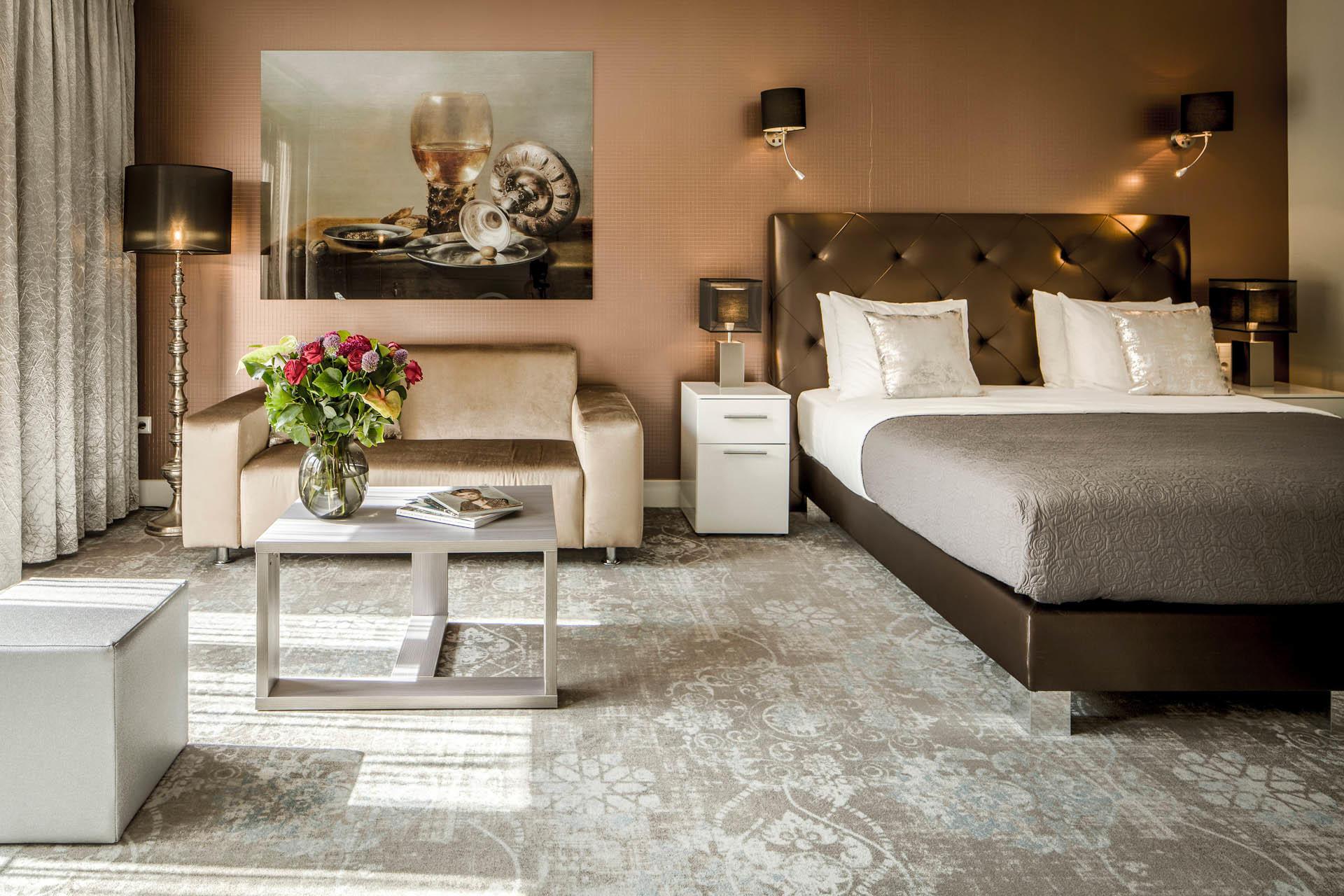 Luxury Suite Patio at Luxury Suites Amsterdam