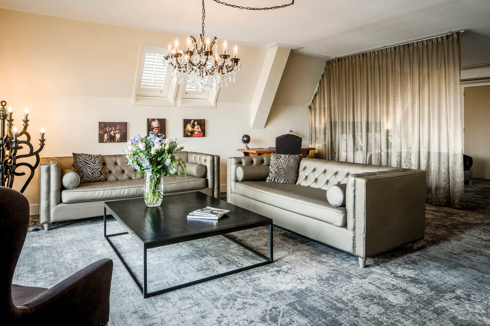 Imperial Suite at Luxury Suites Amsterdam
