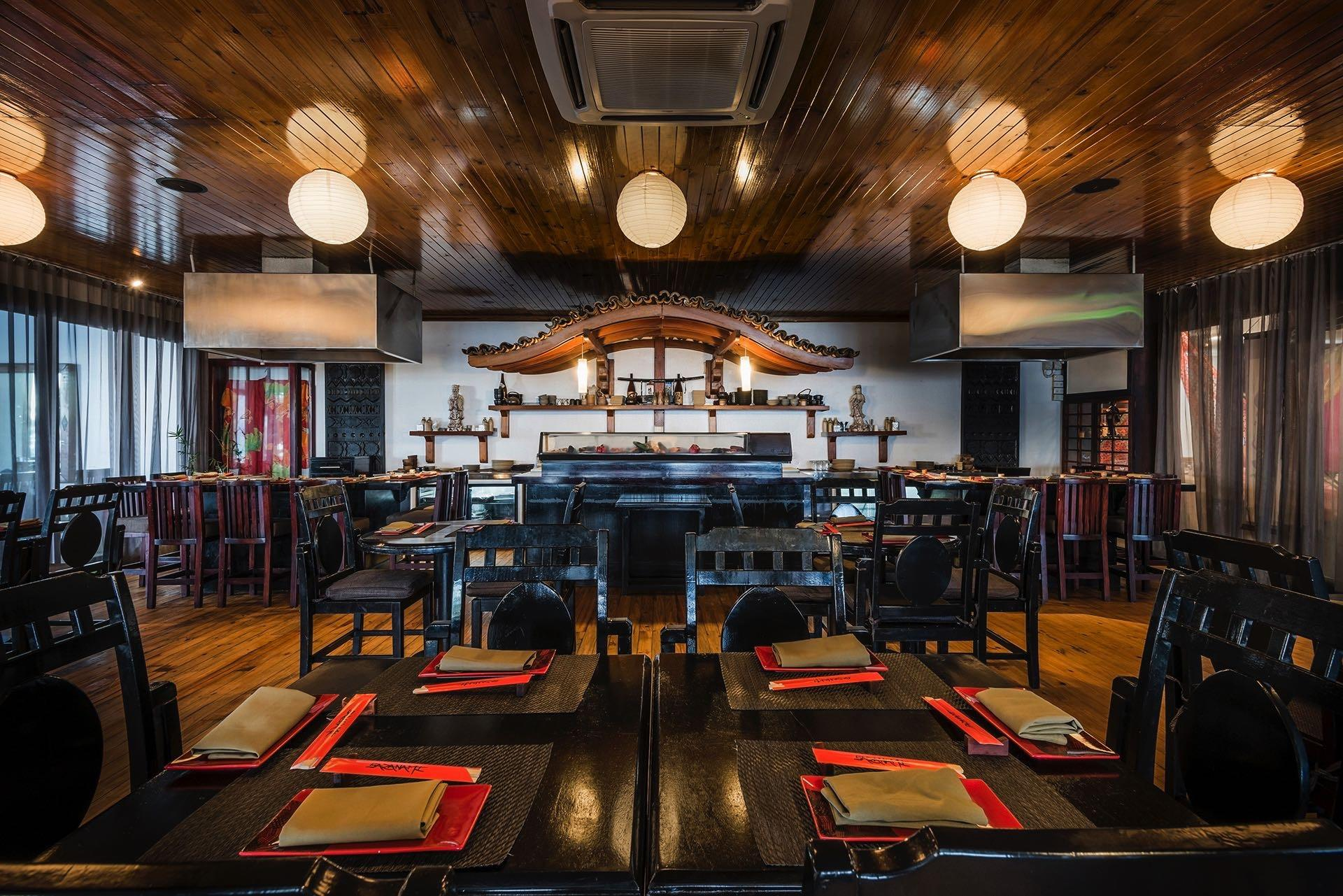 Sazanami Japanese restaurant at Warwick Fiji