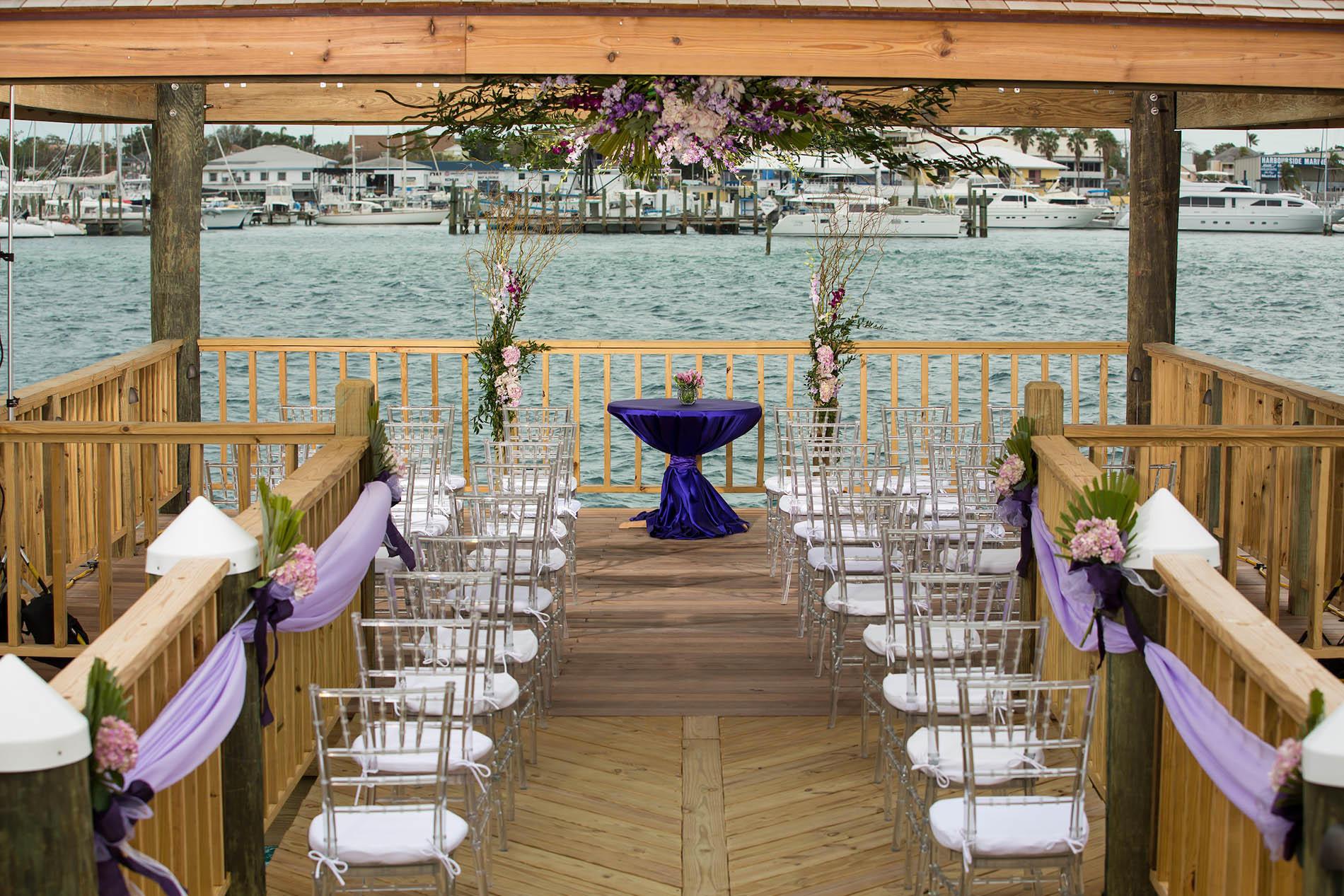 Warwick Paradise Island Bahamas Wedding area