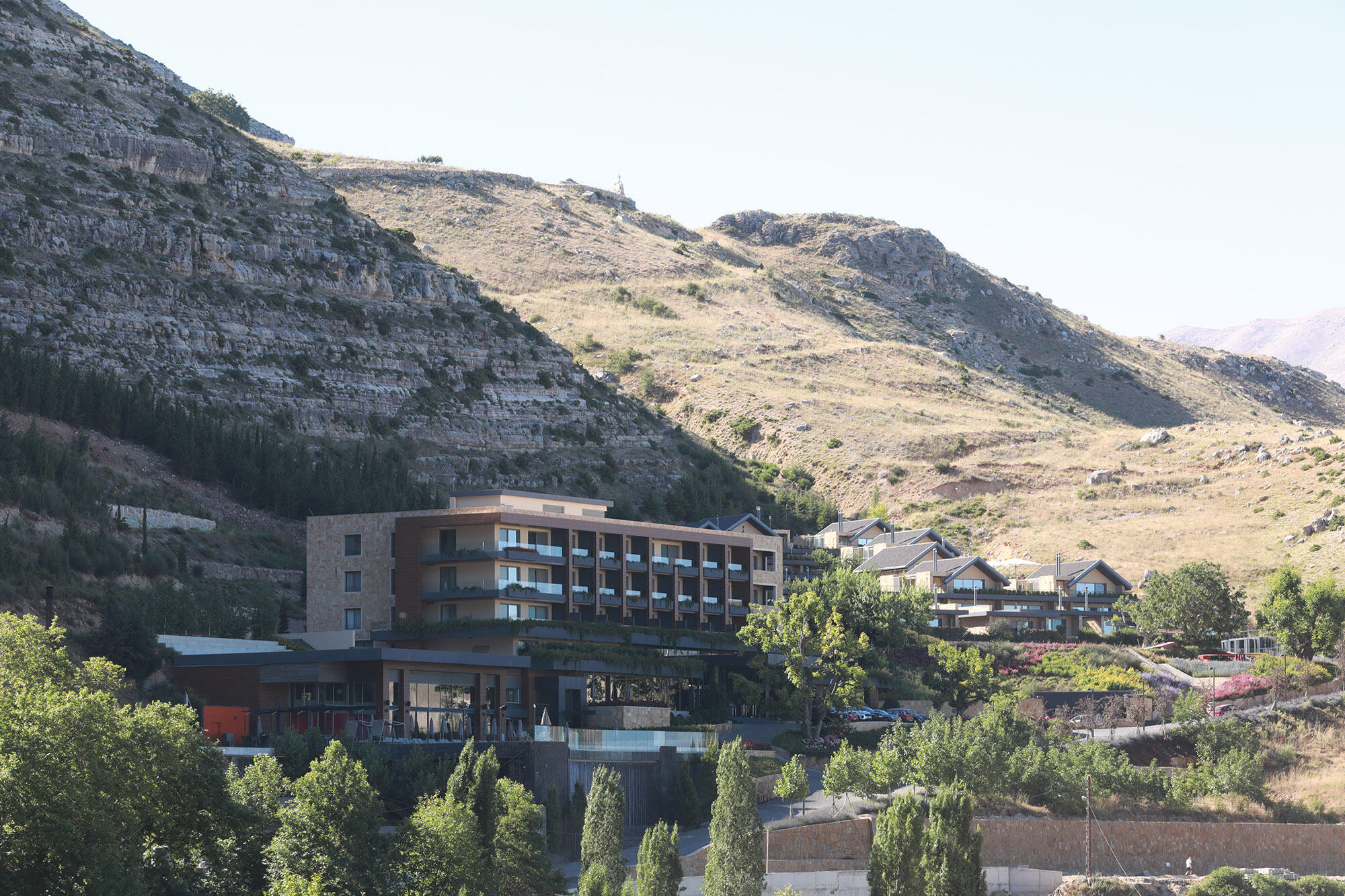 Hotel Surrounded by Mountain