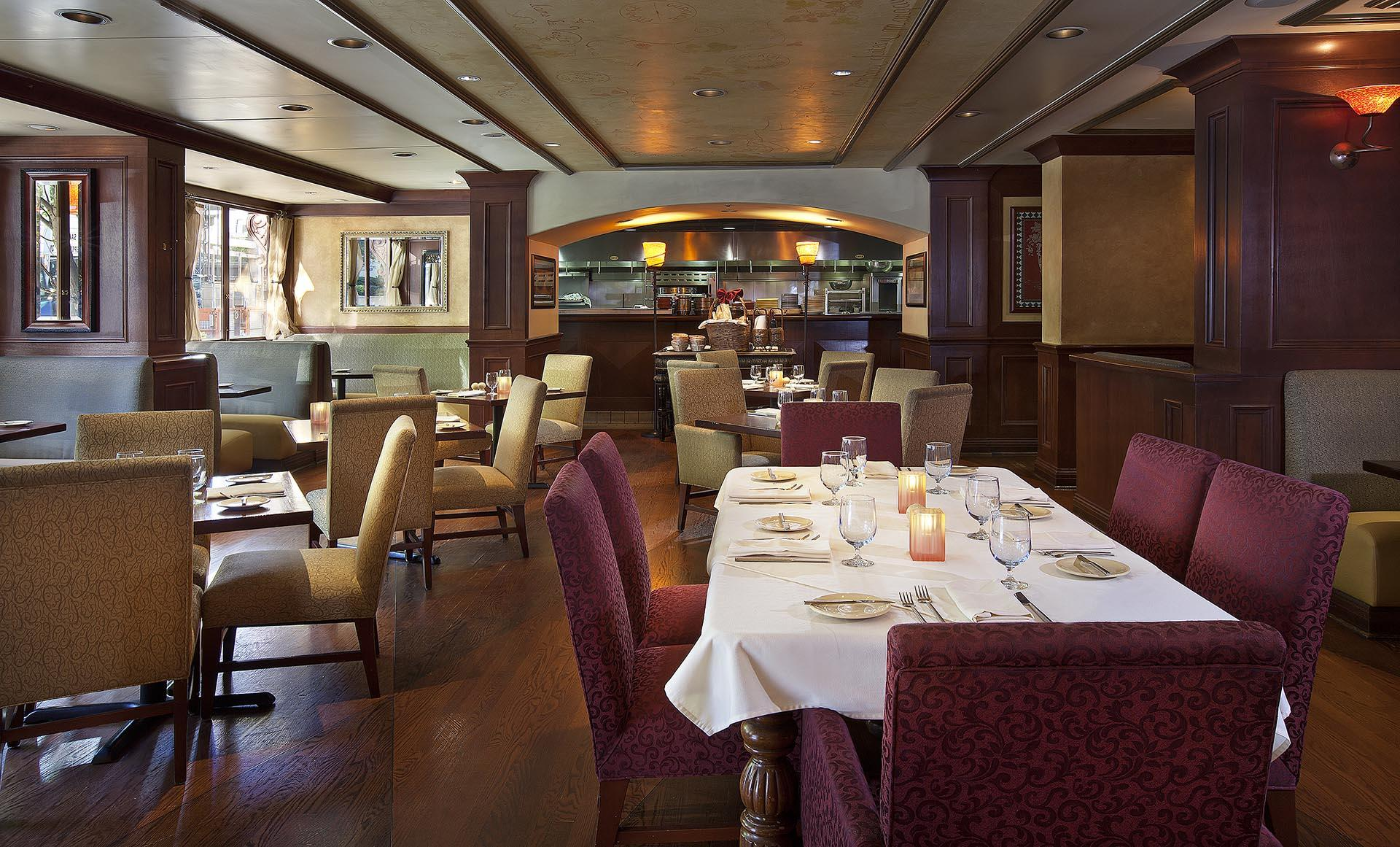 Dining Room at Margaux Restaurant in Seattle