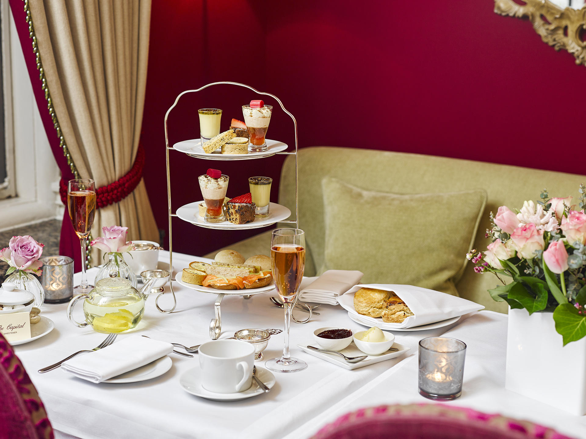 Afternoon Tea at Warwick Hotels and Resorts