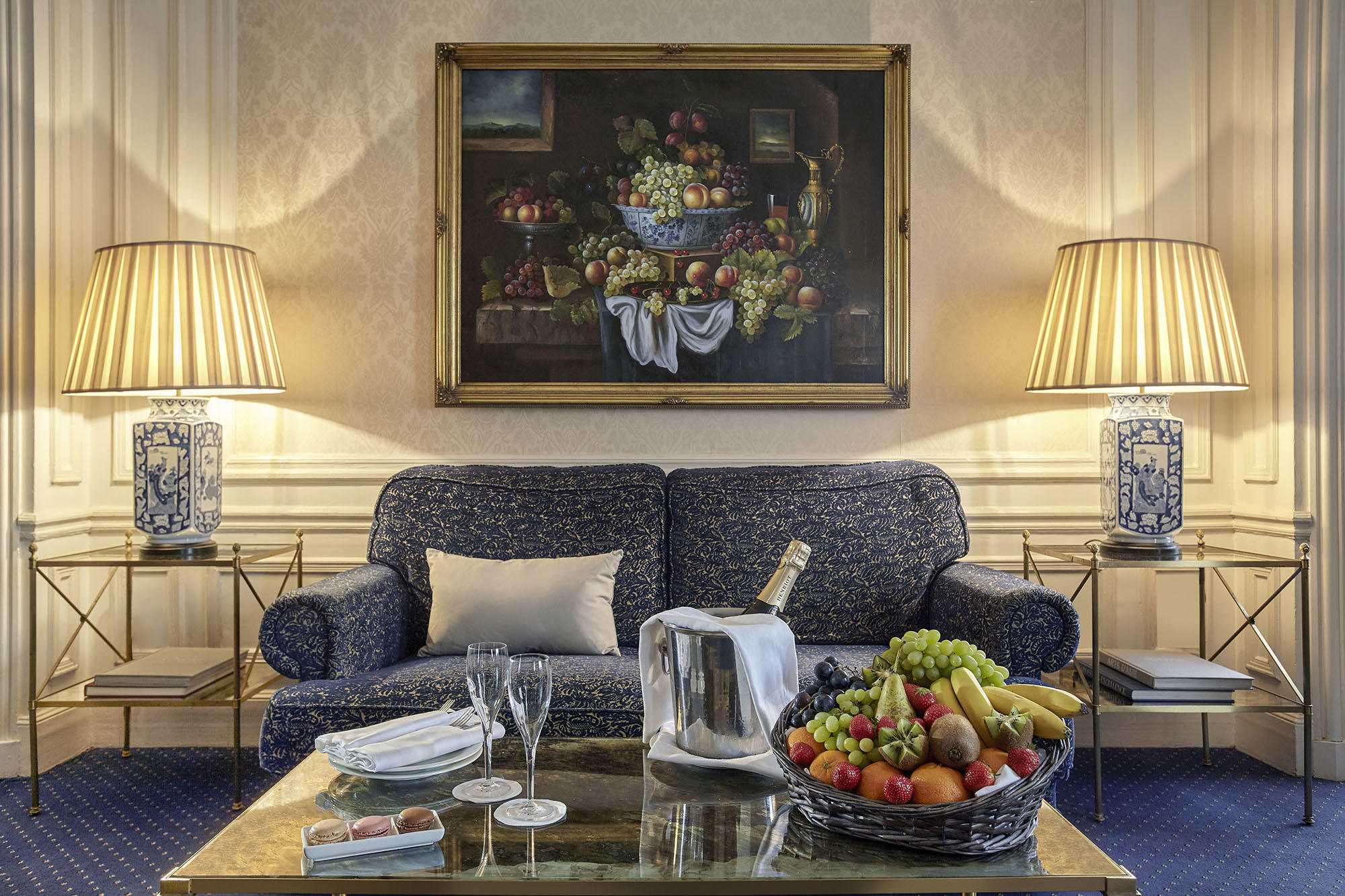 Suite Vendome VIP Welcome at Hotel Westminster Warwick Paris