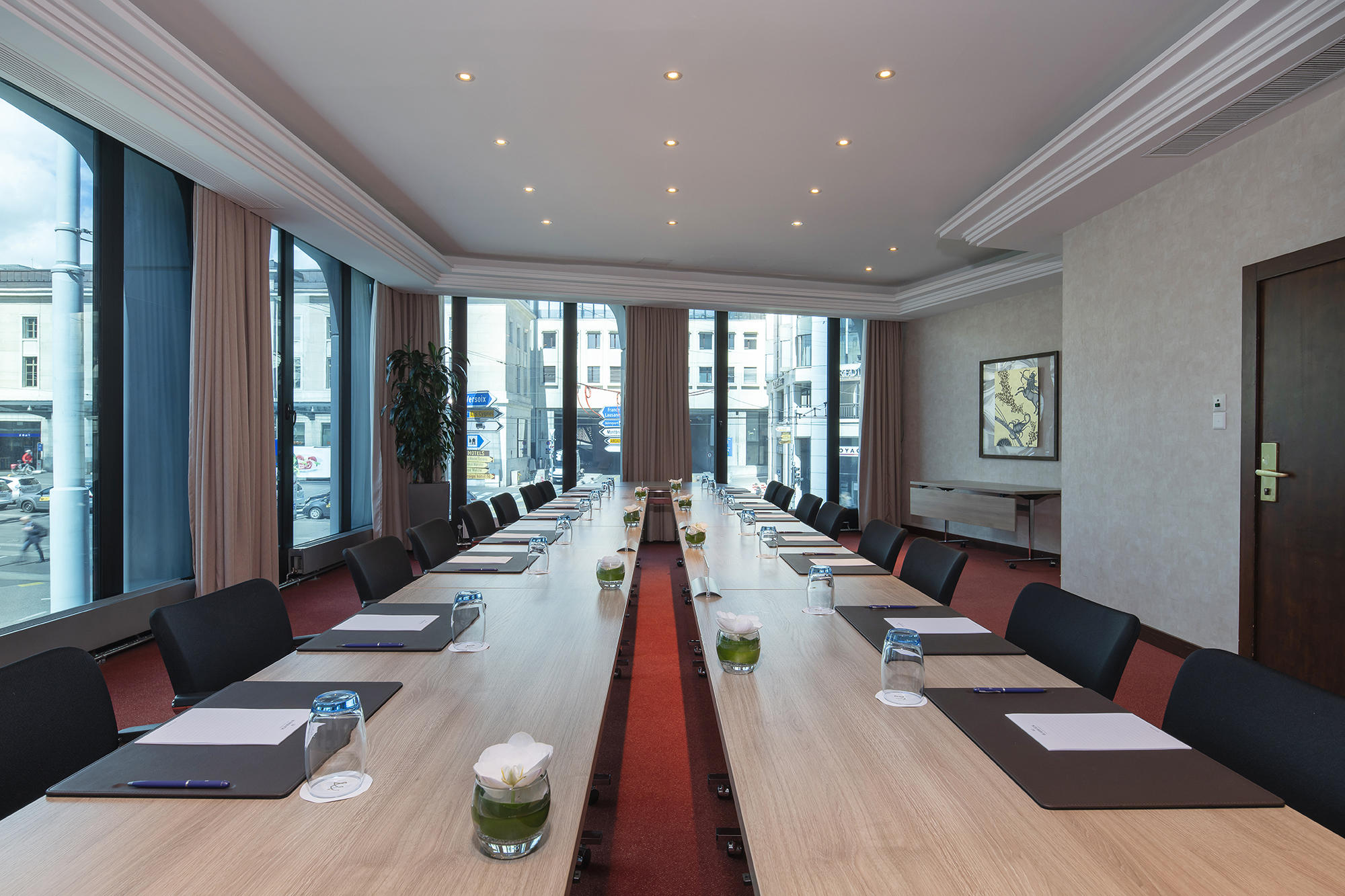 Meeting Room at Warwick Geneva Rigi & Cervin