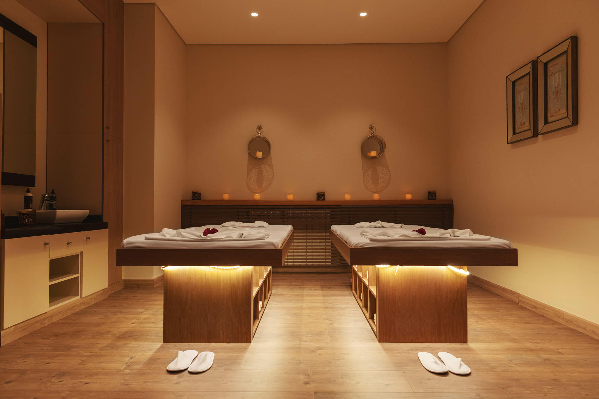 Spa Area at Mist Hotel