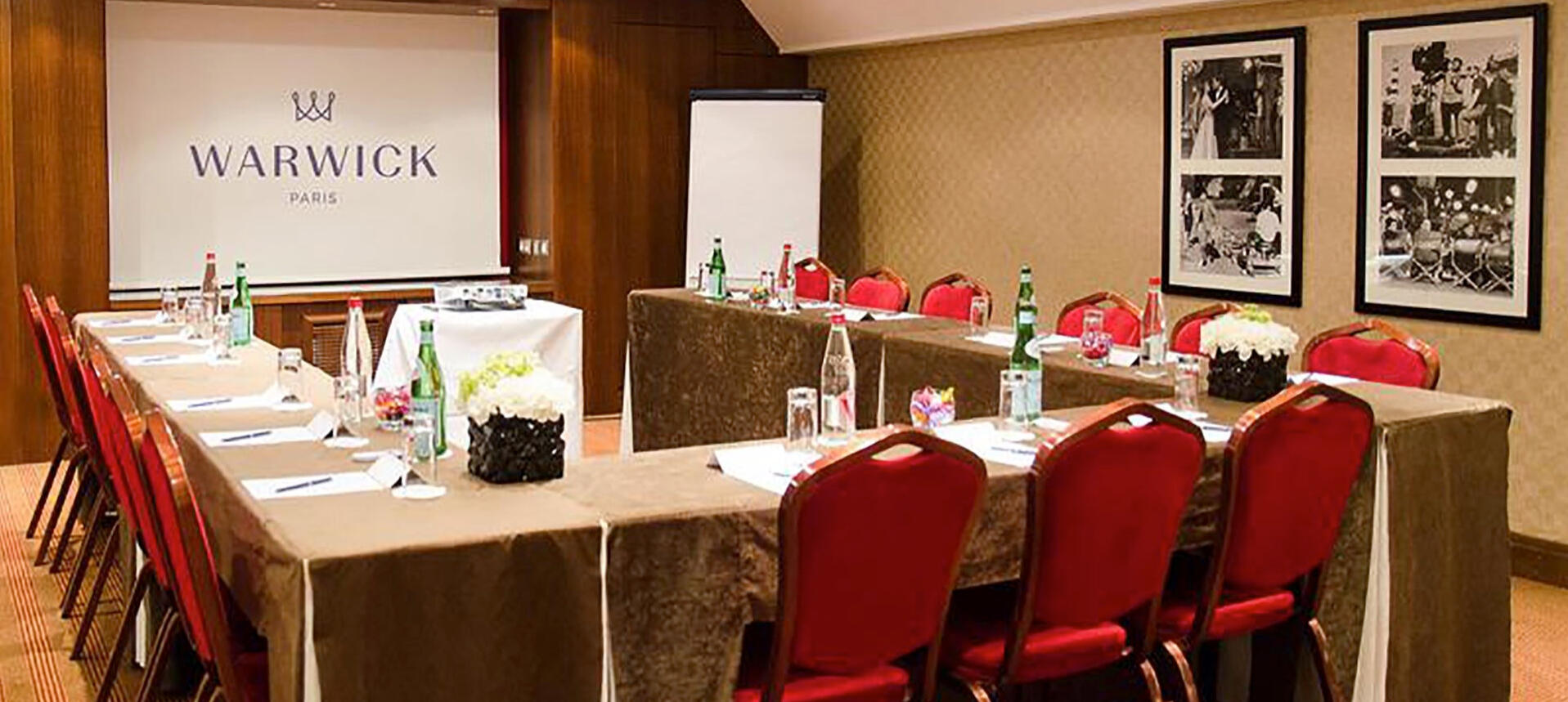 Meeting Room at Warwick Paris