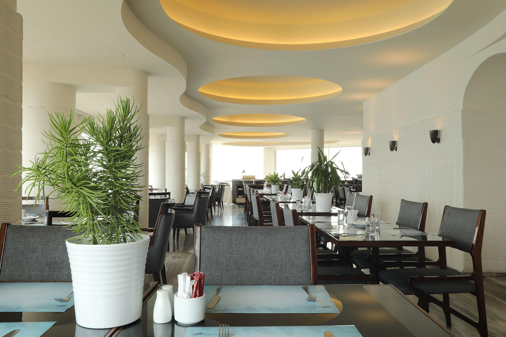 Restaurant Interior Design at Warwick Palm Beach