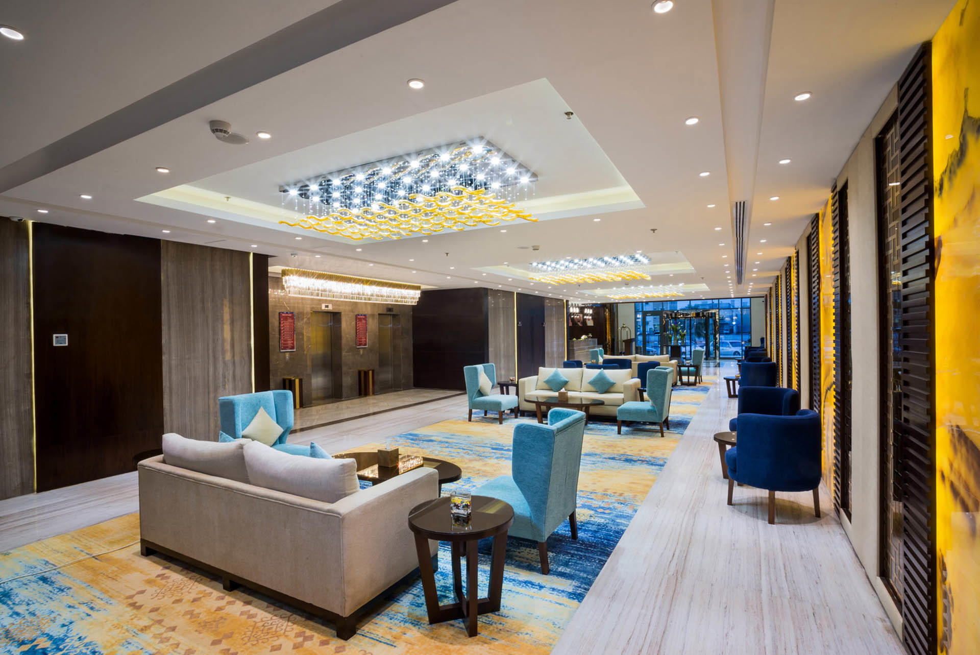 Lobby and Lounge Area at Naviti by Warwick Dammam