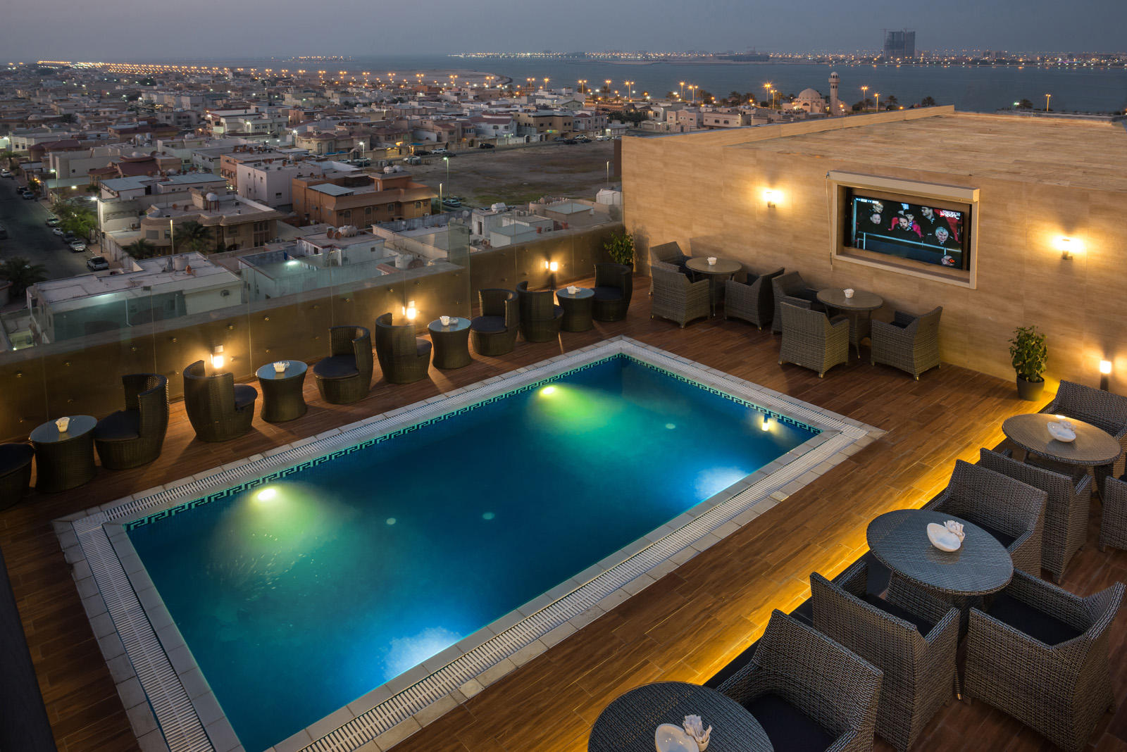 Rooftop Pool at Naviti by Warwick Dammam