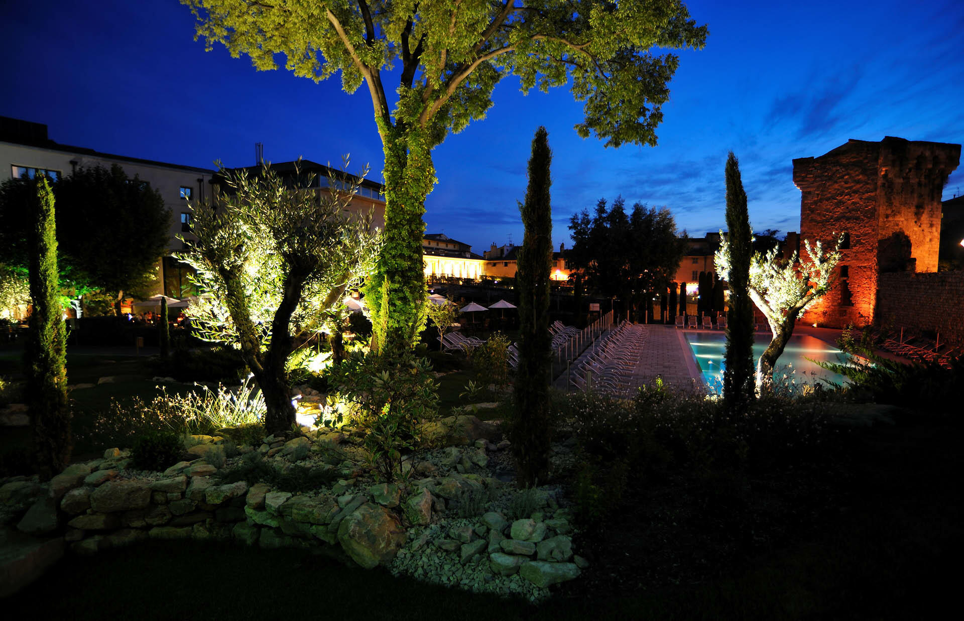 Garden at Partouche Hotels in France