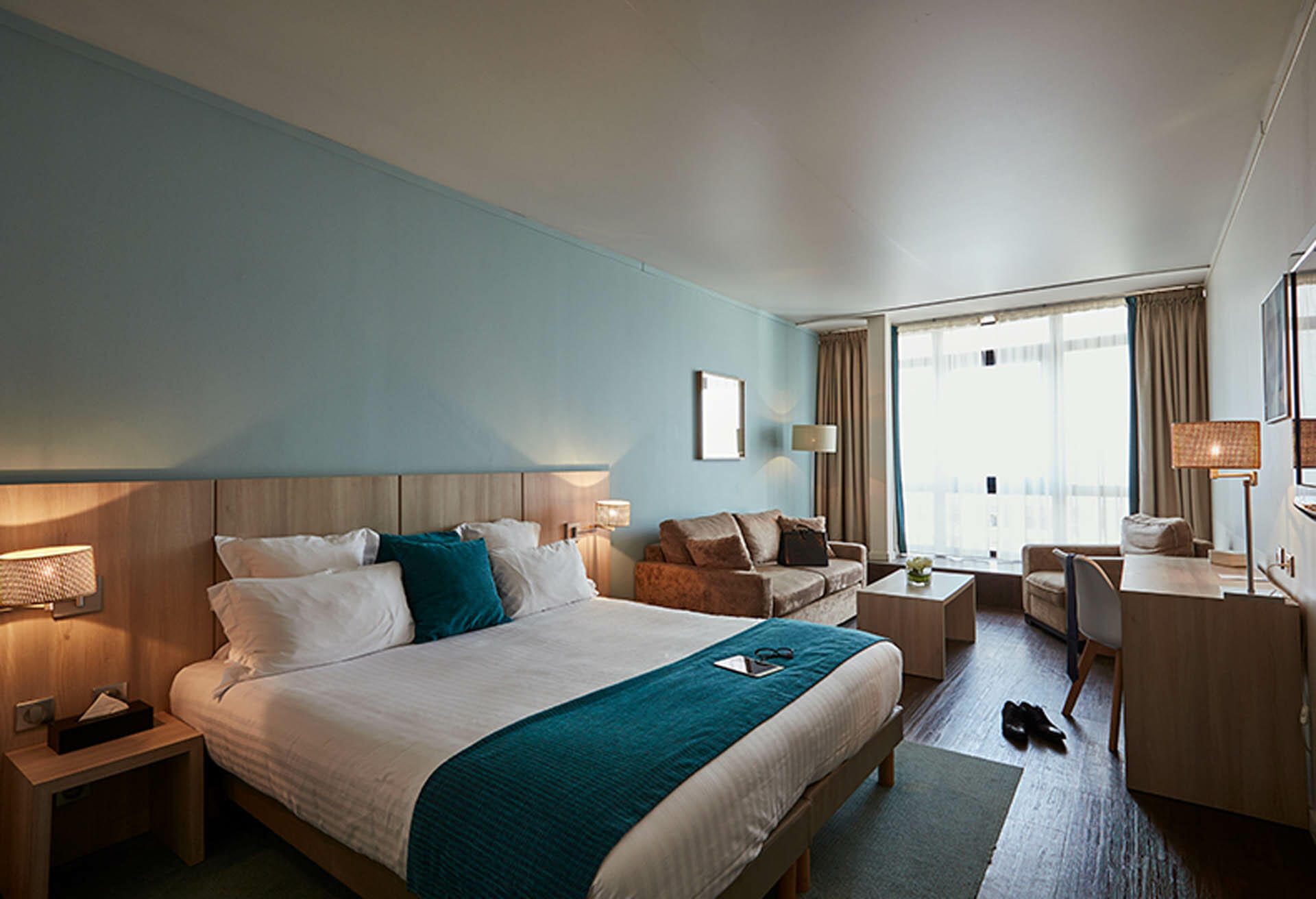 Sea View Junior Suite at Grand Hôtel du Casino in Dieppe, France