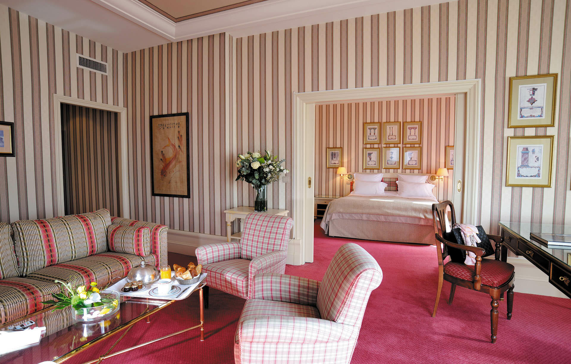 Presidential Suite at Domaine de Divonne Hotel
