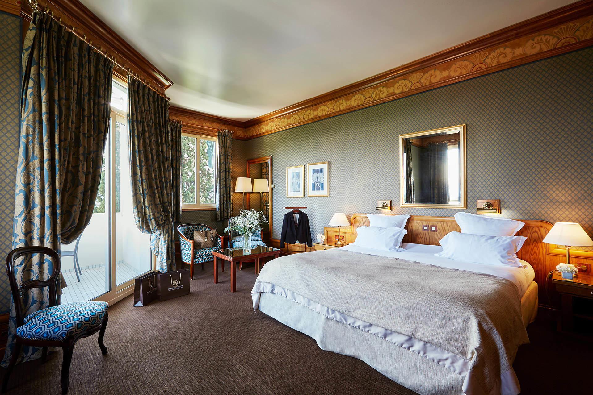 Deluxe Room at Domaine de Divonne Hotel in Divonne-les-Bains