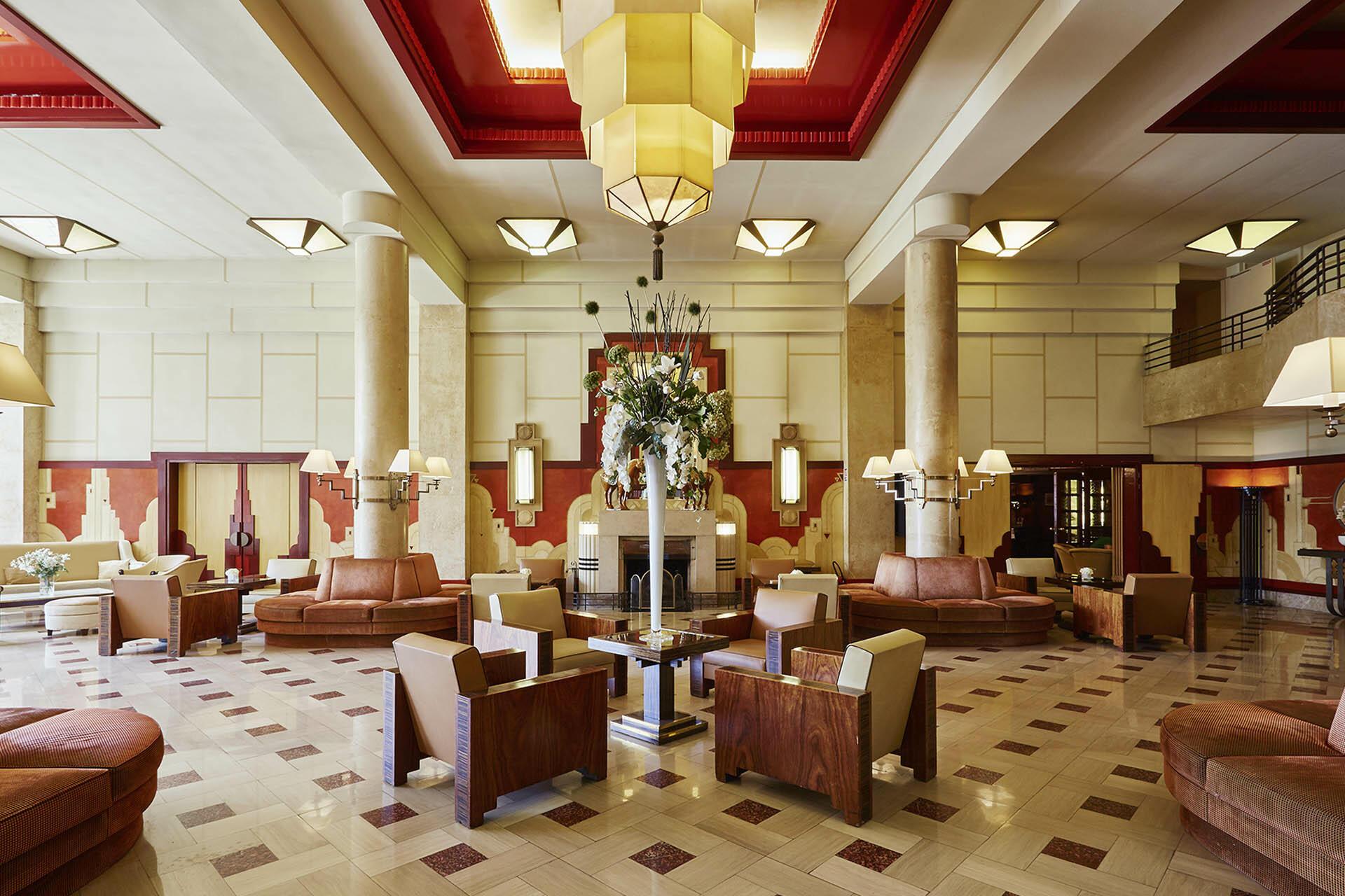 Hall at Domaine de Divonne Hotel in Divonne-les-Bains