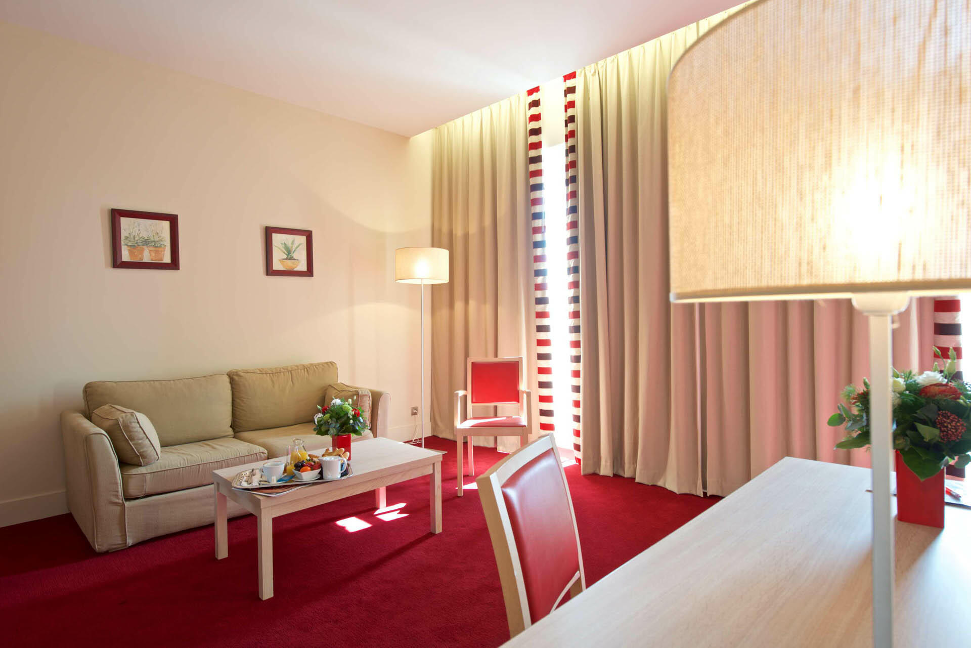 Junior Suite at Hôtel du Parc in Salies-de-Béarn, France
