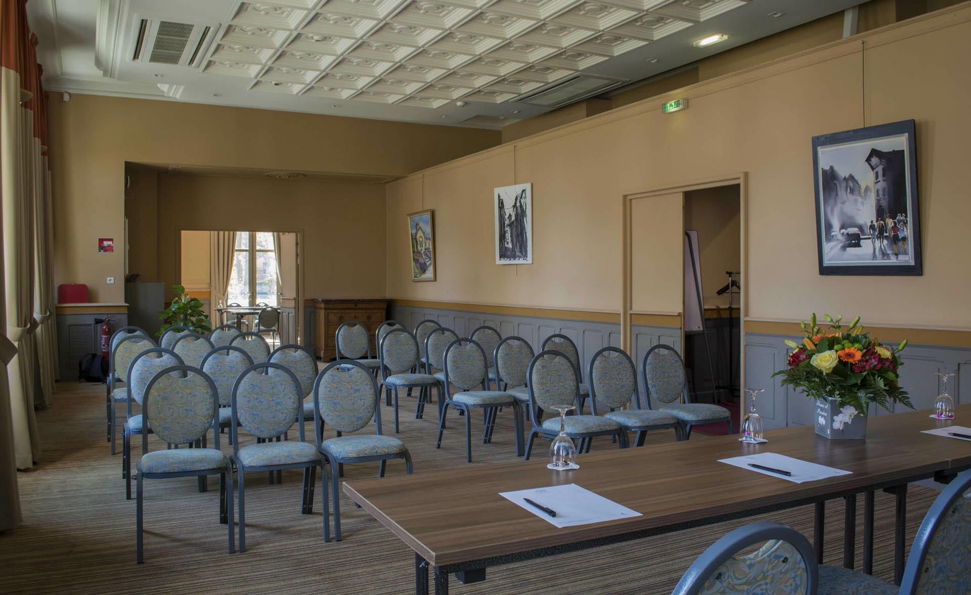 Conference room at Hôtel du Parc in Salies-de-Béarn, France