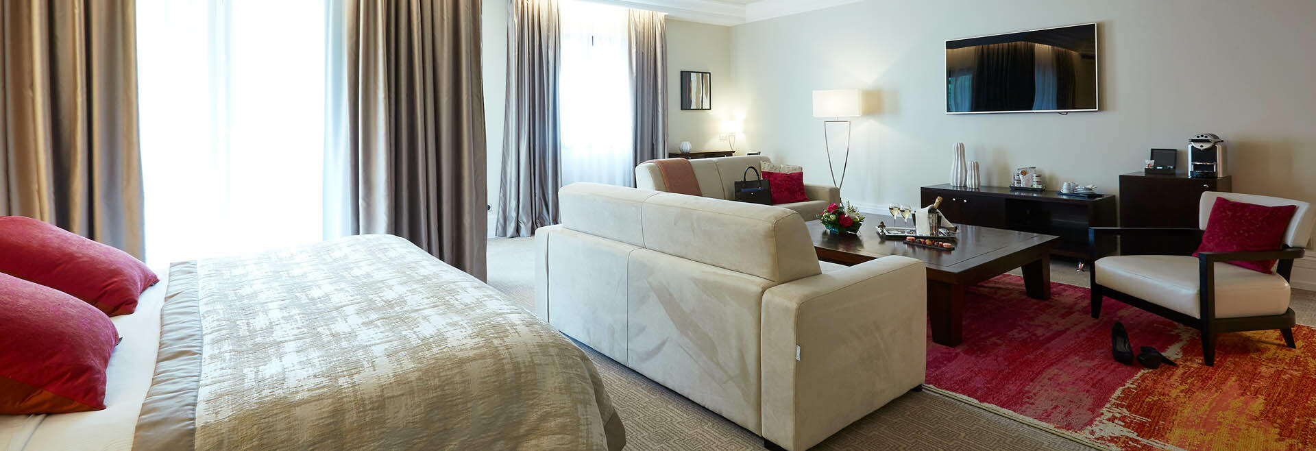Room at Hotel & Spa Le Pavillon near Lyon