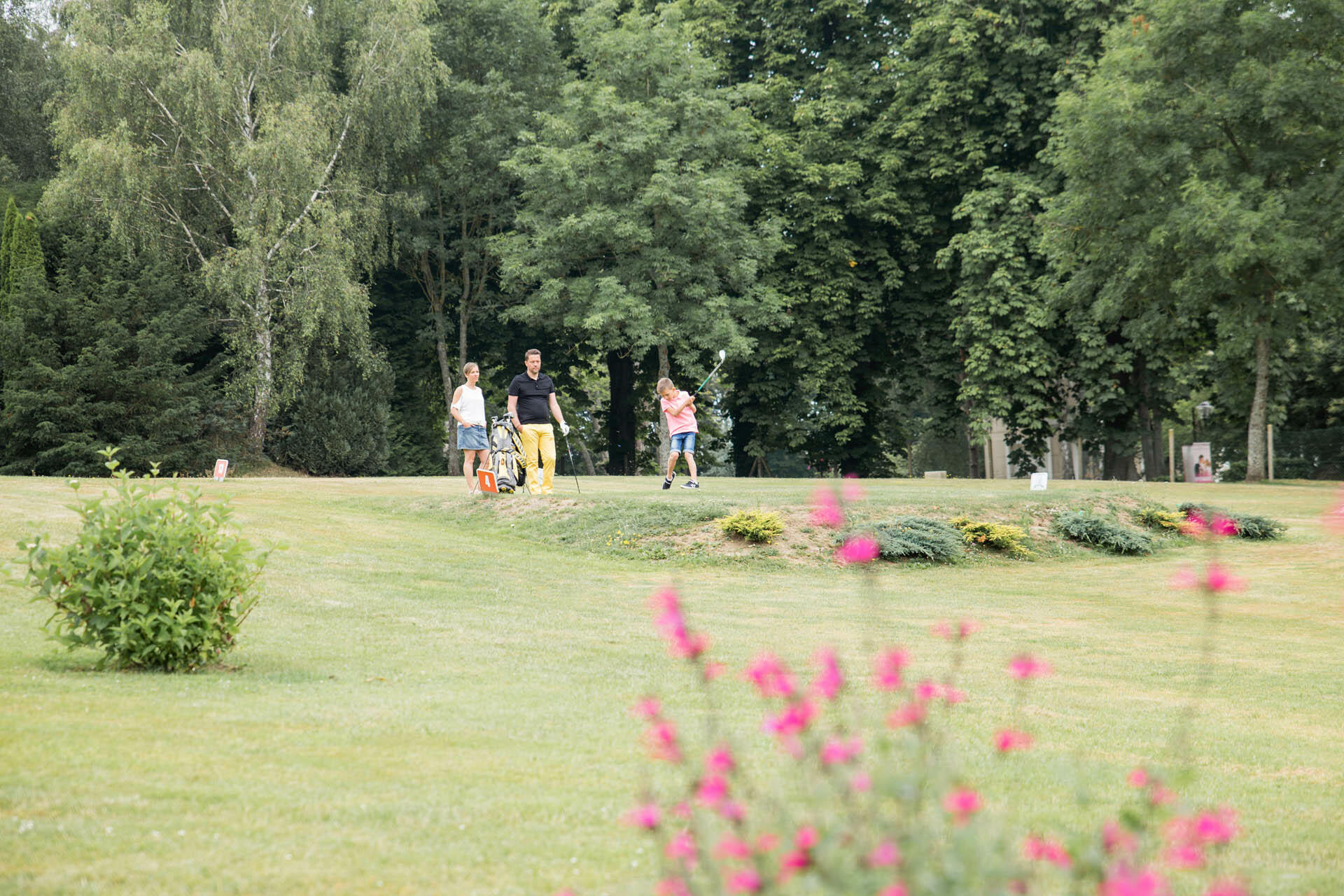Golf at Forges Hotel in Forges-les-Eaux, France