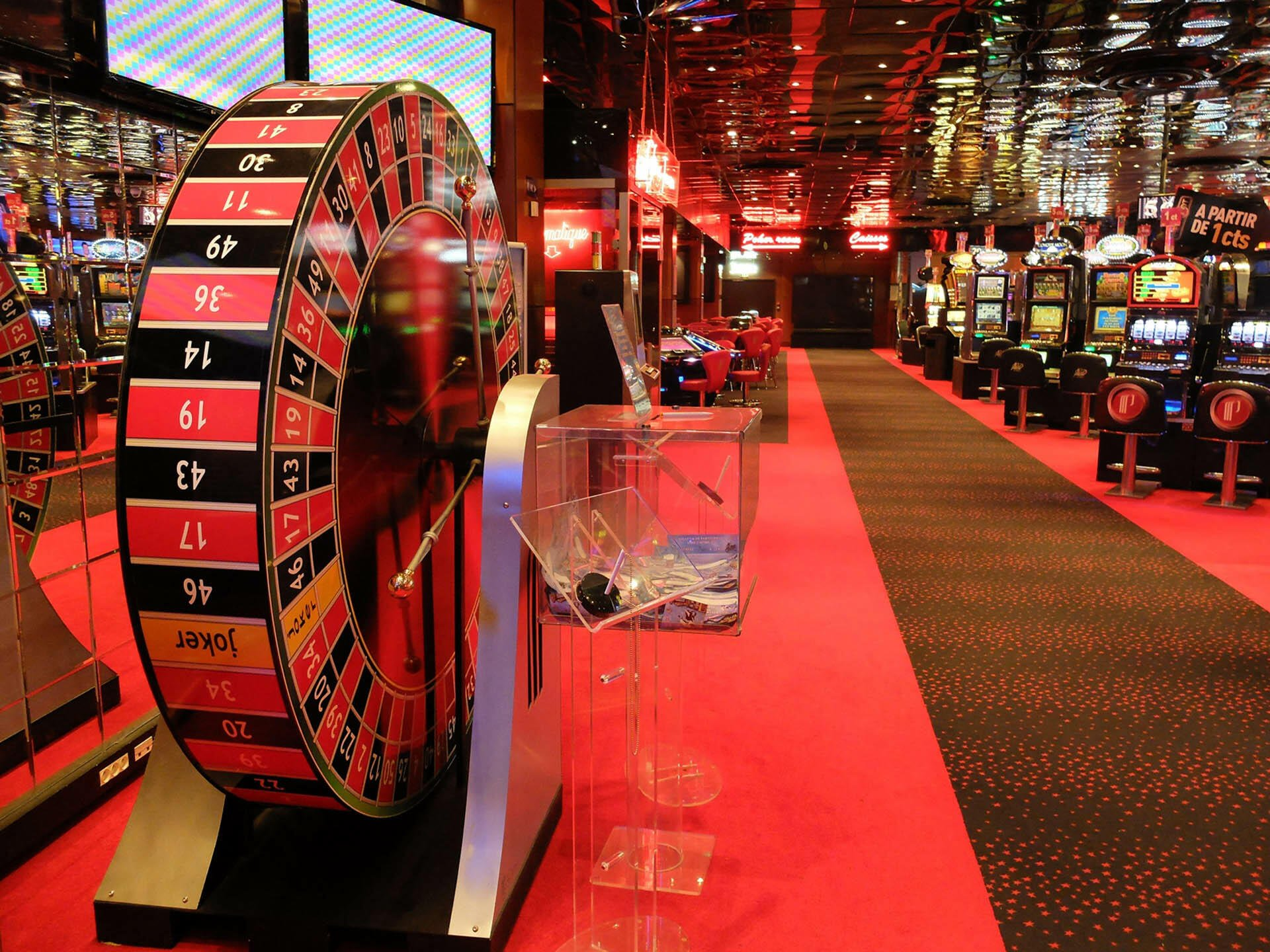 Casino at Partouche Hotels in France