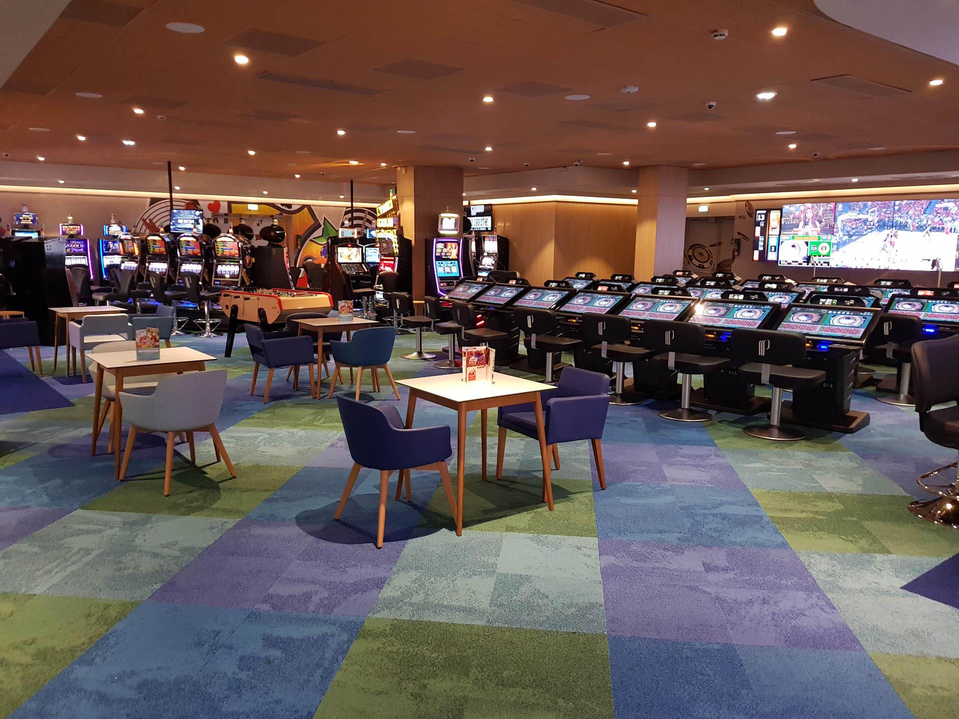 Restaurant at Grand Hotel du Casino in Dieppe, France
