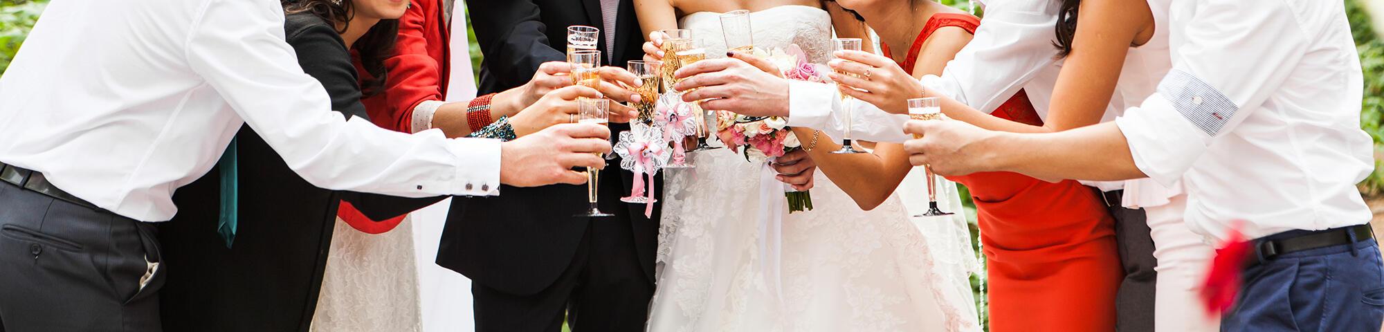 Wedding celebration at Warwick Melrose Dallas