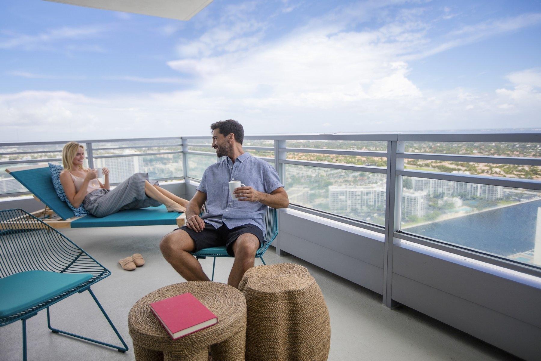 Balcony Couple