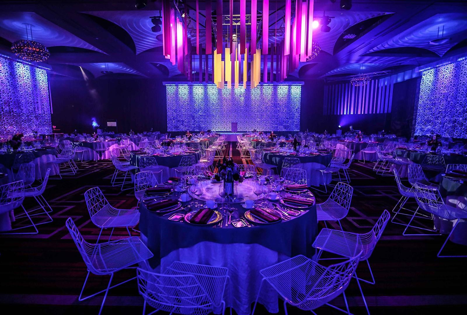A event room at Melbourne hotel