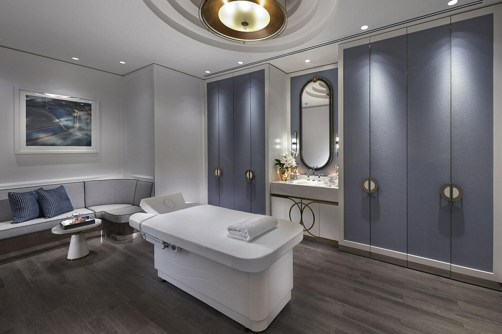 Spa facilities for the customers at Crown Hotel Perth