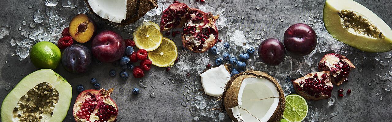 Healthy food items at Crown Hotel Perth