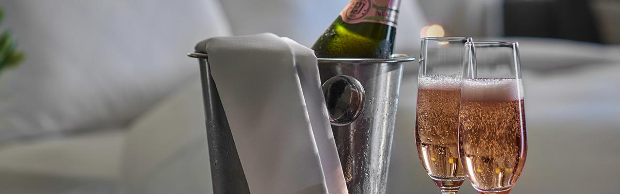 Cocktail at Melbourne hotel