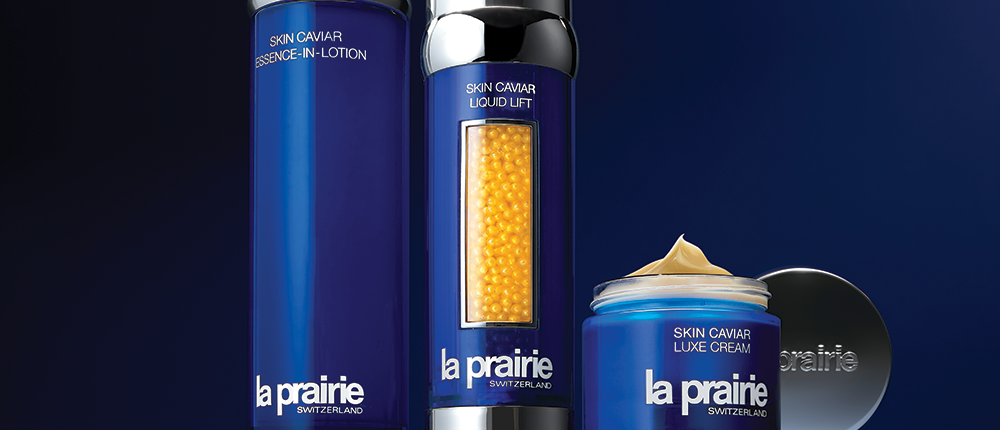 Skin care products at Crown Hotels