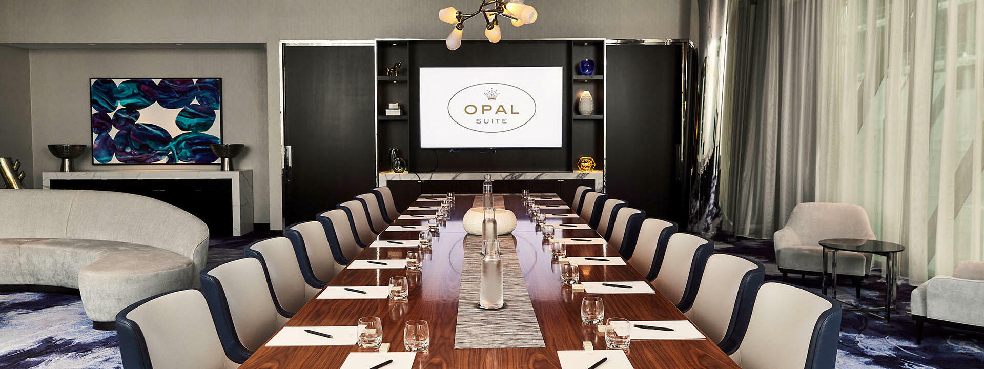 Opal Suite event room at Crown Towers Sydney