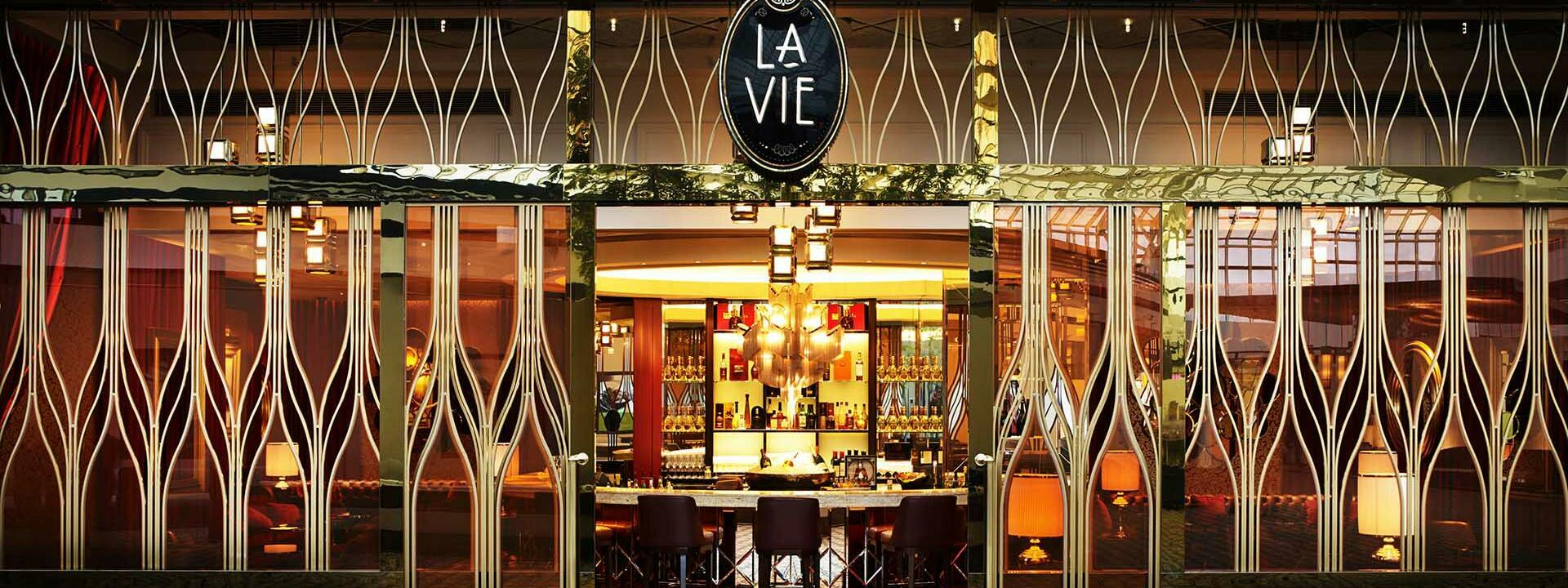 La Vie event room at Crown Towers Perth